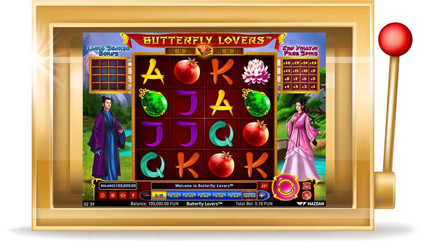 Игровой автомат Butterfly Lovers (Влюбленные бабочки)
