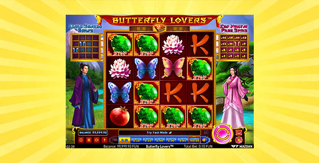 Игровой автомат Butterfly Lovers
