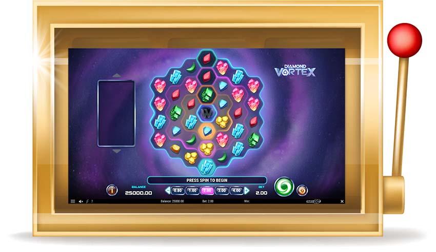 Игровой автомат Diamond Vortex (Даймонд Вортекс)