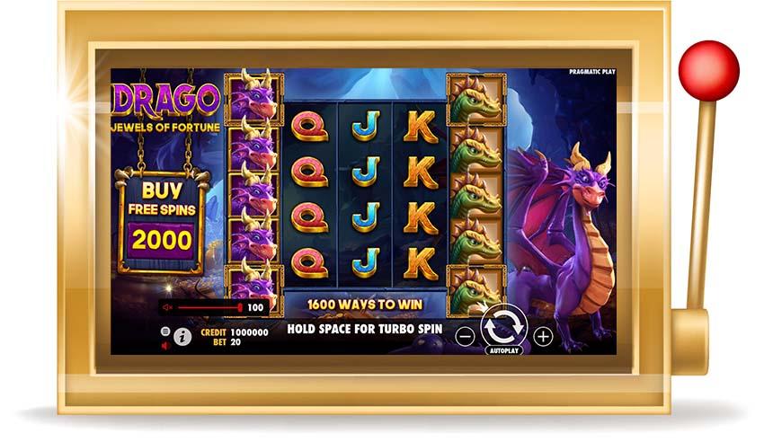 Игровой автомат Drago: Jewels of Fortune  (Драко: Драгоценности фортуны)
