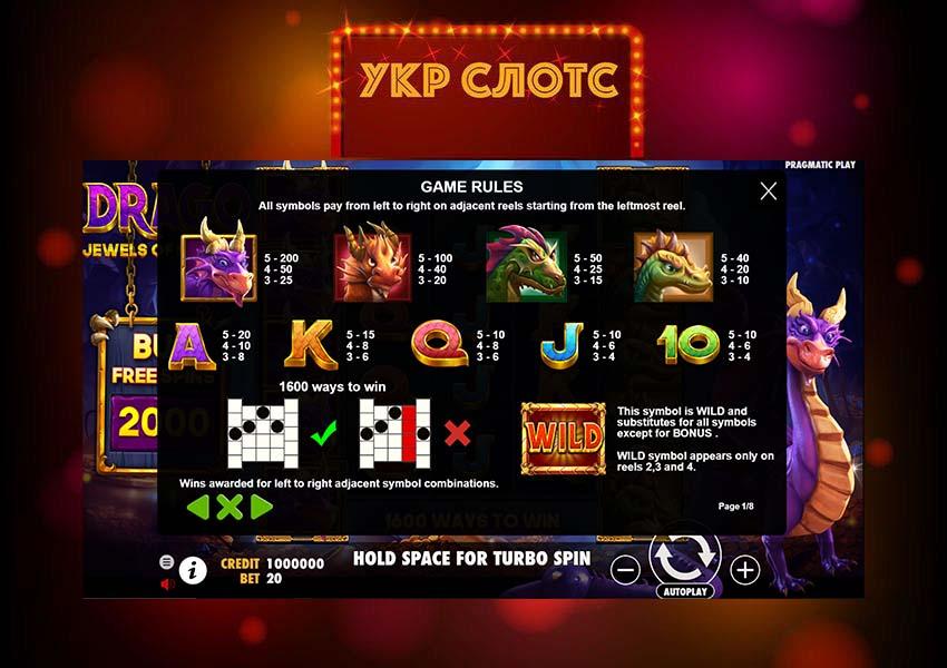 Игровой автомат Drago: Jewels of Fortune