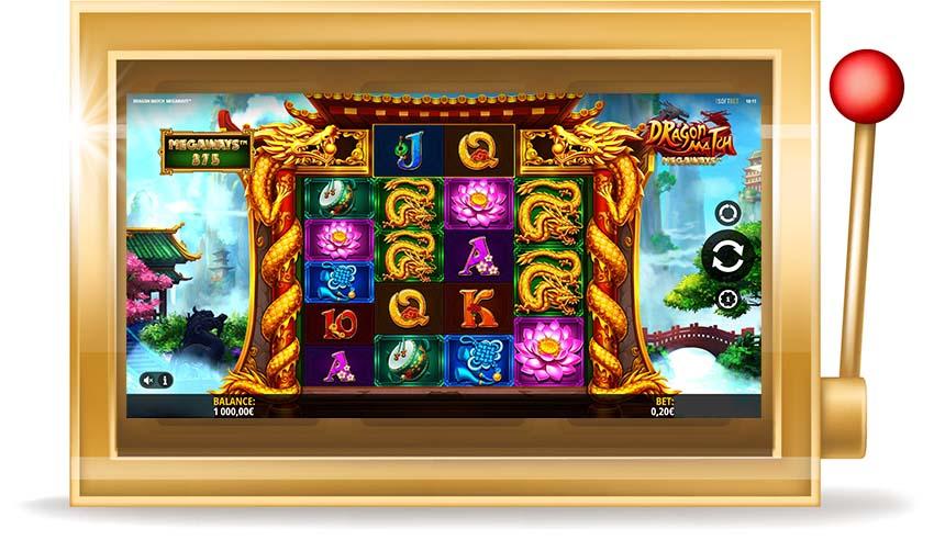 Игровой автомат Dragon Match Megaways ( Матч Драконов Мегавейс)