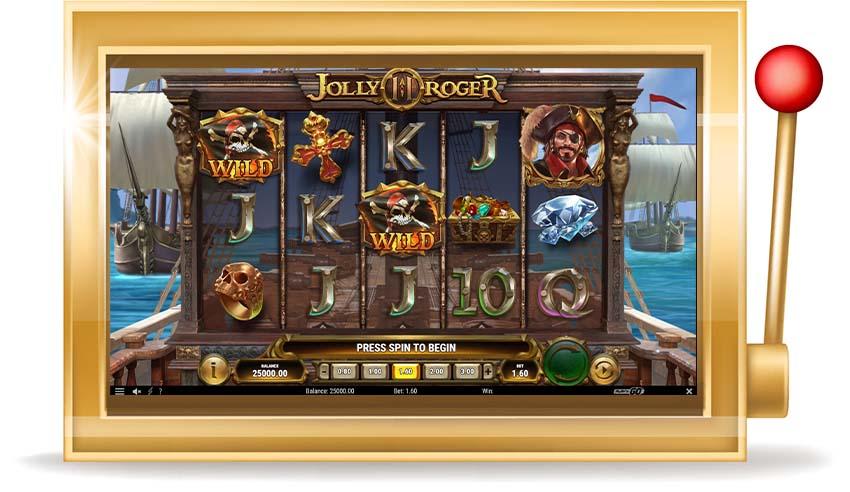 Игровой автомат Jolly Roger 2 (Весёлый Роджер 2)