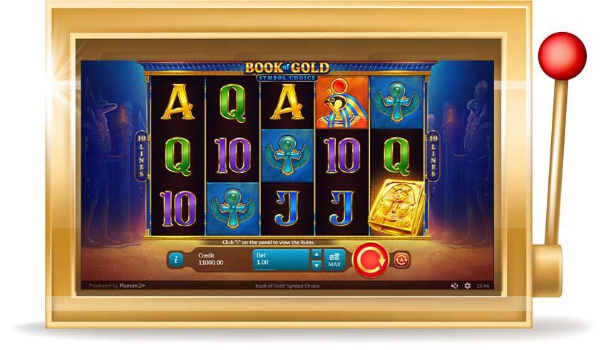 Игровой автомат Book of Gold: Symbol Choice (Книга золота: Выбор символов)