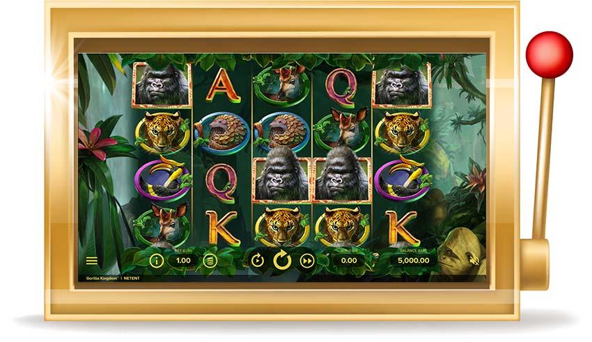 Игровой автомат Gorilla Kingdom (Королевство горилл)