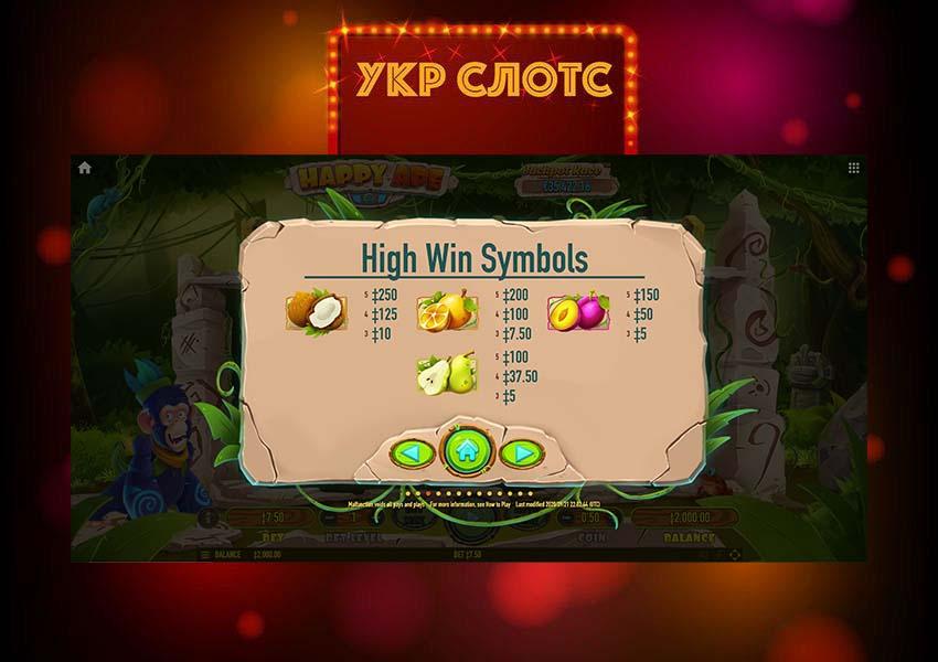 Игровой автомат Happy Ape