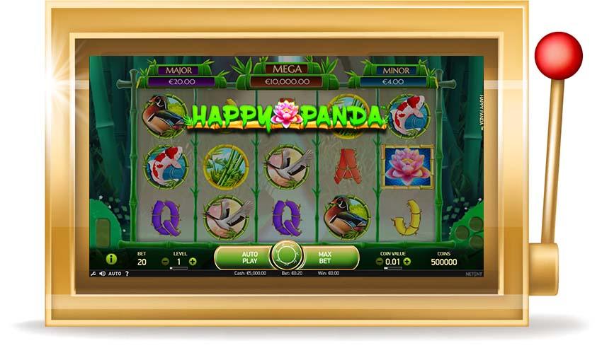 Игровой автомат Happy Panda (Счастливая Панда)