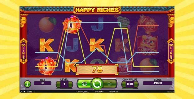 Игровой автомат Счастливое богатство
