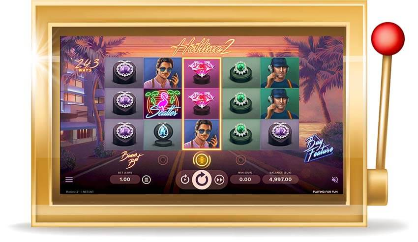 Игровой автомат Hotline 2 (Хотлайн 2)