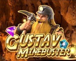 Играть в игровой автомат Gustav Minebuster
