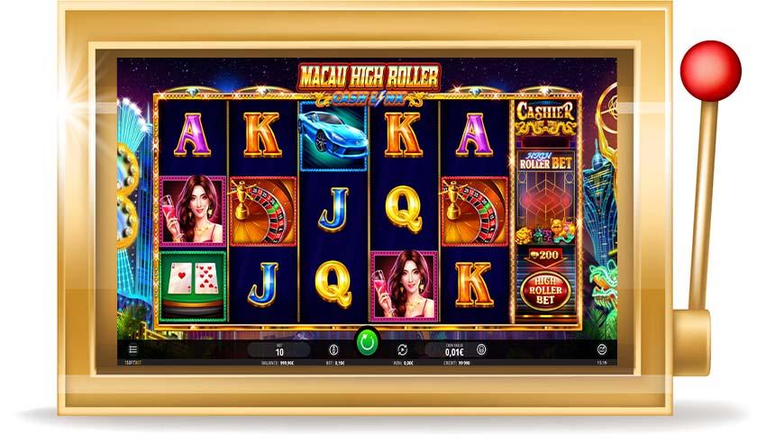 Игровой автомат Macau High Roller (Макао Хай Роллер)