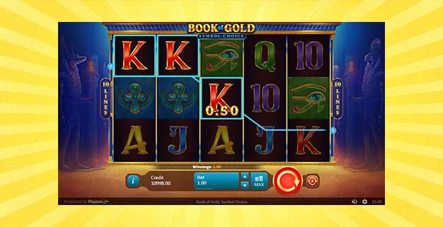 Игровой автомат Книга золота: Выбор символов