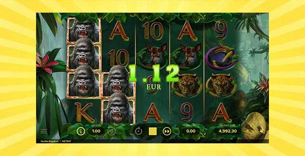 Игровой автомат Королевство горилл