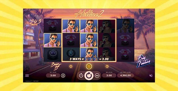 Игровой автомат Хотлайн 2