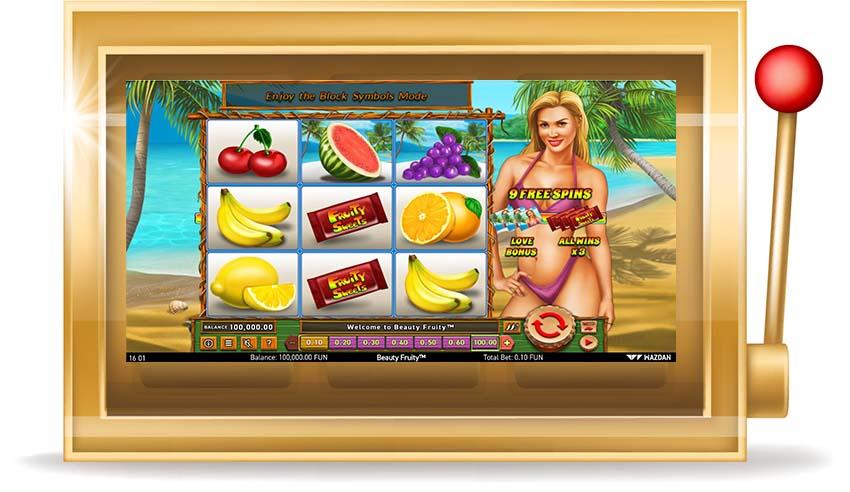 Игровой Автомат  Beauty Fruity (Красивые фрукты)