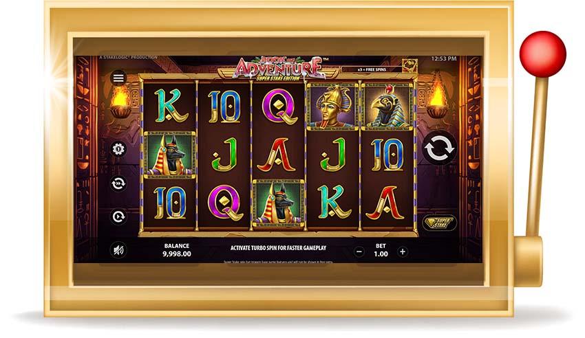 Игровой автомат Book of Adventure Super Stake Edition (Книга Приключений)