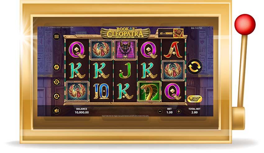 Игровой автомат Book of Cleopatra (Книга Клеопатры)