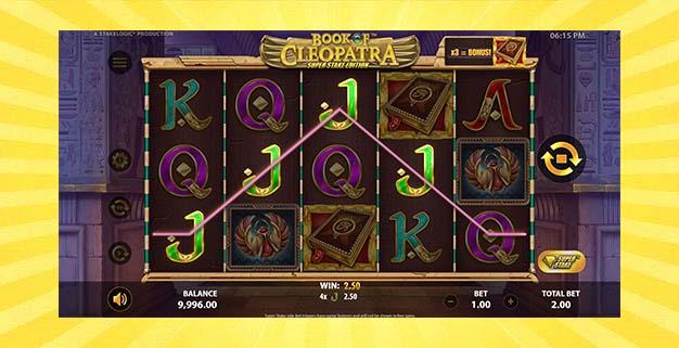 Игровой автомат Book of Cleopatra