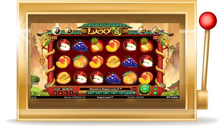 Игровой автомат Dragons Lucky 8 (Удача Драконов 8)