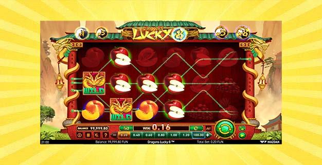 Игровой автомат Удача Драконов 8