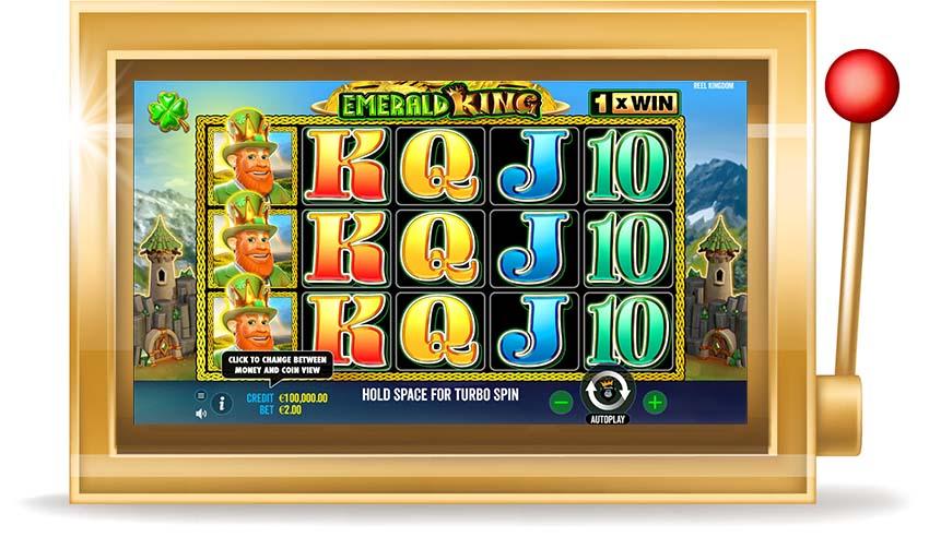 Игровой автомат Emerald King (Изумрудный Король)