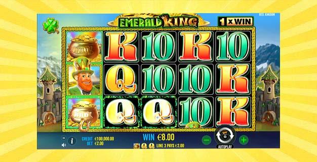 Игровой автомат Изумрудный Король