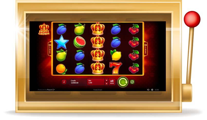 Игровой автомат Fruity Crown(Фруктовая Корона)