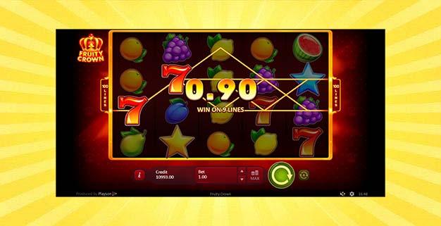 Игровой автомат Фруктовая Корона