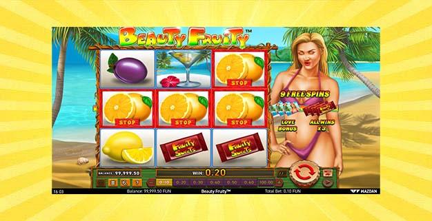Игровой автомат Beauty Fruity