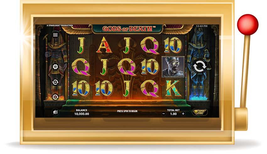 Игровой автомат Gods of Death (Боги Смерти)