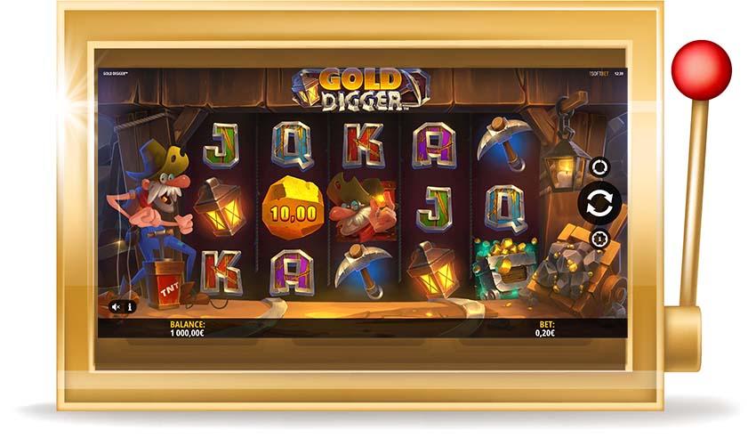 Игровой автомат Gold Digger(Золотоискатели)