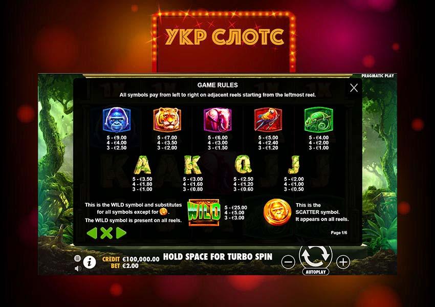 Игровой автомат Jungle Gorilla