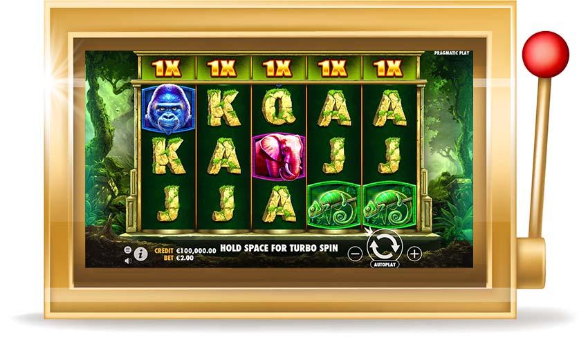 Игровой автомат Jungle Gorilla (Горилла в джунглях)