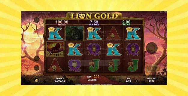 Игровой автомат Lion Gold