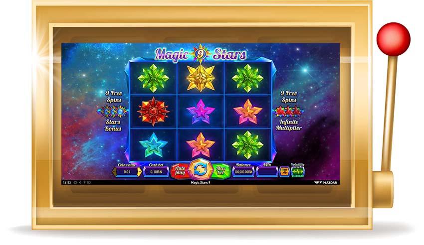 Игровой автомат Magic Stars 9 (Магические Звезды 9)